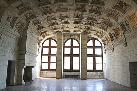 シャンボール城の内部高画質画像です。